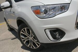 2016 Mitsubishi ASX XB MY15.5 XLS (2WD) White Continuous Variable Wagon Wolli Creek Rockdale Area Preview