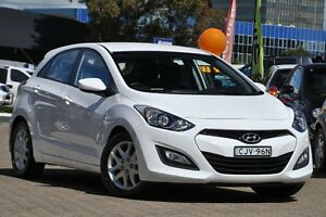2012 Hyundai i30 GD Active 1.6 CRDi White 6 Speed Manual Hatchback Zetland Inner Sydney Preview