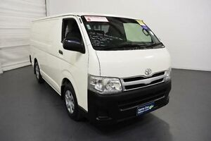 2012 Toyota Hiace KDH201R MY12 Upgrade LWB White 4 Speed Automatic Van Moorabbin Kingston Area Preview