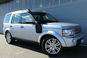 2010 Land Rover Discovery 4 Series 4 MY11 SDV6 CommandShift HSE Silver 6 Speed Sports Automatic Launceston Launceston Area Preview