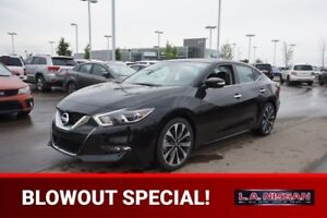 2017 Nissan Maxima 3.5 SR CVT NAVIGATION, LEATHER, HEATED SEATS,