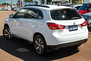 2014 Mitsubishi ASX XB MY15 LS 2WD White 6 Speed Constant Variable Wagon Cannington Canning Area Preview