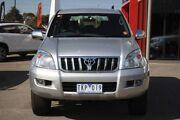 2004 Toyota Landcruiser Prado KZJ120R GXL Silver 4 Speed Automatic Wagon Frankston Frankston Area Preview