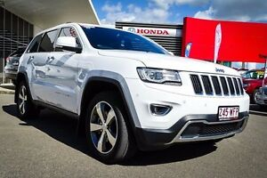 2015 Jeep Grand Cherokee WK MY15 Limited Bright White 8 Speed Sports Automatic Wagon Garbutt Townsville City Preview