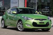 2014 Hyundai Veloster FS3 + Coupe D-CT Green 6 Speed Sports Automatic Dual Clutch Hatchback Kippa-ring Redcliffe Area Preview