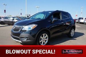 2013 Buick Encore ALL WHEEL DRIVE Leather,  Heated Seats,  Sunro