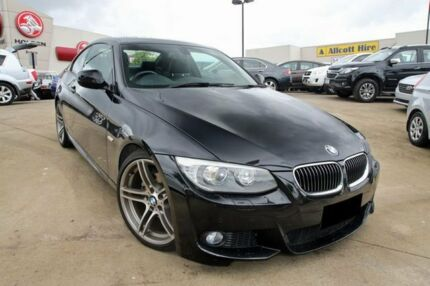 2013 BMW 320D E92 MY1112 Steptronic Black 6 Speed Sports Automatic Coupe