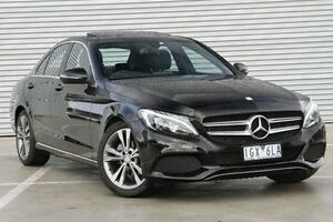 2016 Mercedes-Benz C200 205 MY16 D Black 7 Speed Sports Automatic Sedan Ringwood East Maroondah Area Preview