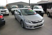 2012 Honda Civic MY12 Sport Silver 5 Speed Automatic Sedan Mitchell Gungahlin Area Preview