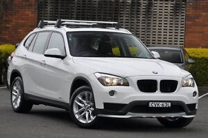 2014 BMW X1 E84 MY14 Upgrade sDrive 18D White 8 Speed Automatic Wagon Zetland Inner Sydney Preview