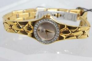 NEW IN BOX WITH SWAROVSKI CRYSTAL CITIZEN LADIES WATCH FOR SALE