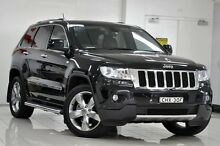 2012 Jeep Grand Cherokee WK MY12 Limited (4x4) Black 5 Speed Automatic Wagon Chatswood West Willoughby Area Preview