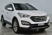 2014 Hyundai Santa Fe DM Highlander White Sports Automatic Wagon Lansvale Liverpool Area Preview