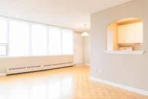 $845 Incl Heat!  Fort Howe Apts*Beautiful & Roomy Suites!
