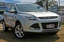 2014 Ford Kuga TF Trend AWD Moondust Silver Automatic Wagon Capalaba West Brisbane South East Preview