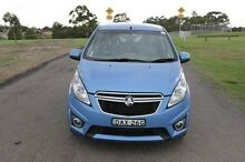 2014 Holden Barina Spark MJ MY15 CD Blue 4 Speed Automatic Hatchback South Maitland Maitland Area Preview