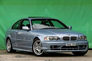 2002 BMW 325CI E46 MY2002 Steptronic Silver 5 Speed Sports Automatic Coupe Ringwood East Maroondah Area Preview