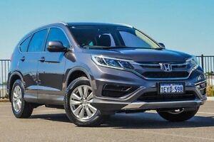 2015 Honda CR-V RM Series II MY16 VTi Grey Manual Wagon Wangara Wanneroo Area Preview