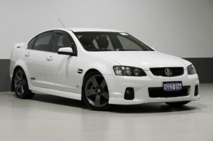 2012 Holden Commodore VE II MY12 SS-V White 6 Speed Automatic Sedan Bentley Canning Area Preview