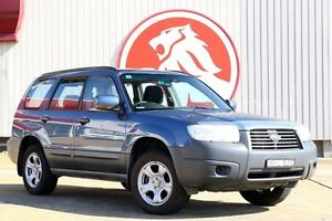 2007 Subaru Forester 79V MY07 X AWD Blue 4 Speed Automatic Wagon Lansvale Liverpool Area Preview
