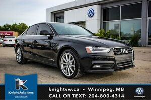 2014 Audi A4 AWD S Line w/ Navigation/Leather/Sunroof