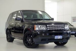 2008 Land Rover Range Rover Sport L320 09MY TDV8 Black 6 Speed Sports Automatic Wagon Myaree Melville Area Preview