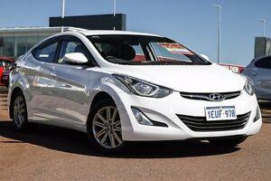 2015 Hyundai Elantra MD3 SE White 6 Speed Sports Automatic Sedan East Rockingham Rockingham Area Preview
