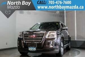 2015 GMC Terrain SLT AWD with Leather, Sunroof, Heated Seats, Bl