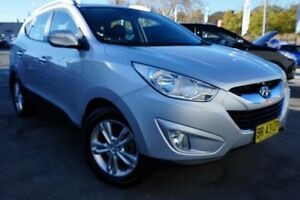 2012 Hyundai ix35 LM2 Elite AWD Silver 6 Speed Sports Automatic Wagon Pearce Woden Valley Preview