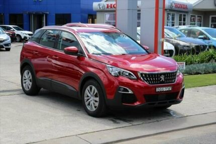 2017 Peugeot 3008 P84 MY18 Active SUV Red 6 Speed Sports Automatic Hatchback Port Macquarie Port Macquarie City Preview