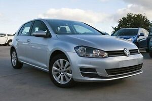 2014 Volkswagen Golf VII MY14 90TSI DSG Comfortline Silver 7 Speed Sports Automatic Dual Clutch Nunawading Whitehorse Area Preview