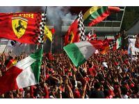 2 x F1 Monza tickets