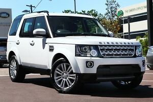 2016 Land Rover Discovery Series 4 L319 MY16.5 SDV6 HSE White 8 Speed Sports Automatic Wagon Osborne Park Stirling Area Preview