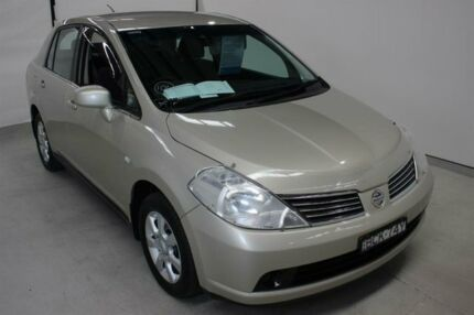 2007 Nissan Tiida C11 MY07 ST-L Gold 4 Speed Automatic Sedan Maryville Newcastle Area Preview