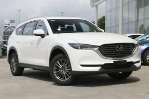 2018 Mazda CX-8 KG MY18 Sport (AWD) (5Yr) Snowflake White Pearl 6 Speed Automatic Wagon