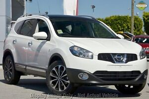 2012 Nissan Dualis J107 Series 3 MY12 White 6 Speed Constant Variable Hatchback Blacktown Blacktown Area Preview