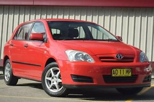 2007 Toyota Corolla ZRE152R Ascent Red 6 Speed Manual Hatchback Homebush Strathfield Area Preview