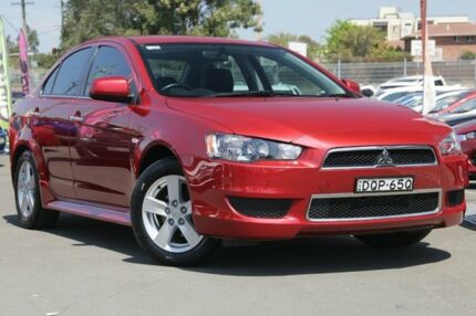2013 Mitsubishi Lancer CJ MY13 LX 6 Speed CVT Auto Sequential Sedan