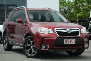 2013 Subaru Forester S4 MY13 XT Lineartronic AWD Premium Red/Black 8 Speed Constant Variable Wagon Moorooka Brisbane South West Preview