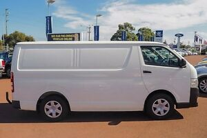 2013 Toyota Hiace KDH201R MY12 LWB White 4 Speed Automatic Van Wangara Wanneroo Area Preview