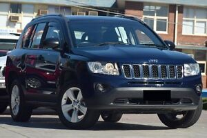2012 Jeep Compass MK MY12 Sport (4x2) Blue 6 Speed Continuous Variable Wagon Waitara Hornsby Area Preview