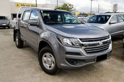 2016 Holden Colorado RG MY17 LS Crew Cab Silver 6 Speed Manual Cab Chassis