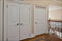 INTERIOR, EXTERIOR DOOR, TRIM AND HARDWARE INSTALLATION