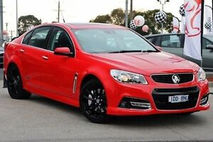 2014 Holden Commodore Red Manual Sedan Cranbourne Casey Area Preview