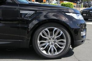 2014 Land Rover Range Rover Sport L494 MY15 SDV6 CommandShift HSE Barolo Black 8 Speed Buderim Maroochydore Area Preview