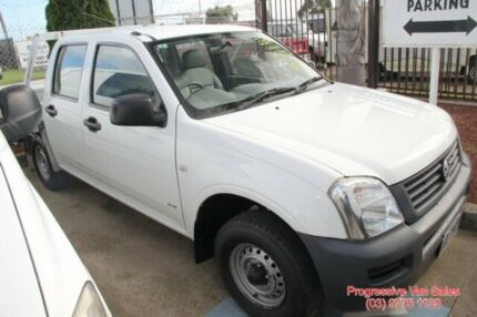 2005 Holden Rodeo DUAL CAB 5 Speed Manual Utility