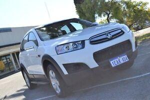 2012 Holden Captiva CG MY13 7 SX (FWD) White 6 Speed Automatic Wagon Maddington Gosnells Area Preview