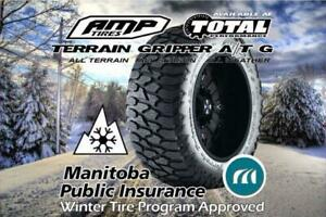 SALE AMP TERRAIN GRIPPER A/T G 35X12.5X20 E RATED IN STOCK $339 EACH