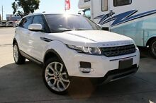 2012 Land Rover Evoque LV SD4 Pure White 6 Speed Automatic Wagon Cannington Canning Area Preview