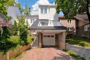 Extra Large & Spacious Freehold Town Home On Quiet Street.